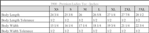 Premium Ladies Tee